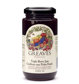 Greaves Jams & Marmalades Ltd. Greaves, Triple Berry Jam, 250ml