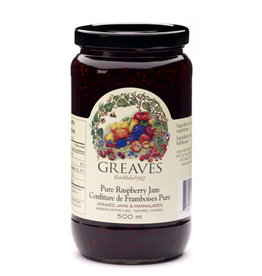 Greaves Jams & Marmalades Ltd. Greaves, Raspberry Jam, 500ml