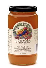 Greaves Jams & Marmalades Ltd. Greaves, Peach Jam, 500ml