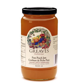 Greaves Jams & Marmalades Ltd. Greaves, Peach Jam, 500ml