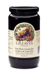 Greaves Jams & Marmalades Ltd. Greaves, Black Currant Jam, 500ml