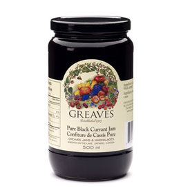 Greaves Jams & Marmalades Ltd. Greaves, Black Currant Jam, 500ml