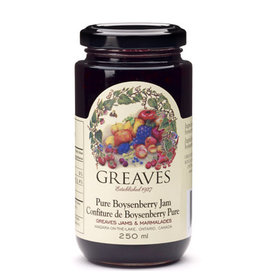 Greaves Jams & Marmalades Ltd. Greaves, Boysenberry Jam, 250ml