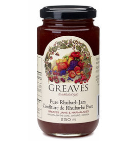 Greaves Jams & Marmalades Ltd. Greaves, Rhubarb Jam, 250ml