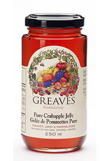 Greaves Jams & Marmalades Ltd. Greaves, Crabapple Jelly, 250ml