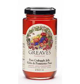 Greaves Jams & Marmalades Ltd. Greaves, Crabapple Jelly, 250ml