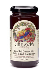 Greaves Jams & Marmalades Ltd. Greaves, Red Currant Jelly, 250ml