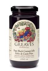 Greaves Jams & Marmalades Ltd. Greaves, Black Currant Jelly, 250ml