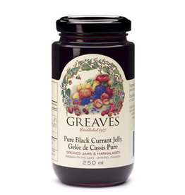 Greaves Jams & Marmalades Ltd. Greaves, Black Currant Jelly, 250ml