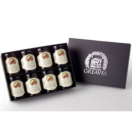 Greaves Jams & Marmalades Ltd. Greaves, Royal Purple Gift Boxes, 8 x 64ml