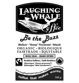 Laughing Whale Coffee Roasters Laughing Whale Coffee, Bee the Buzz, 340g Beans