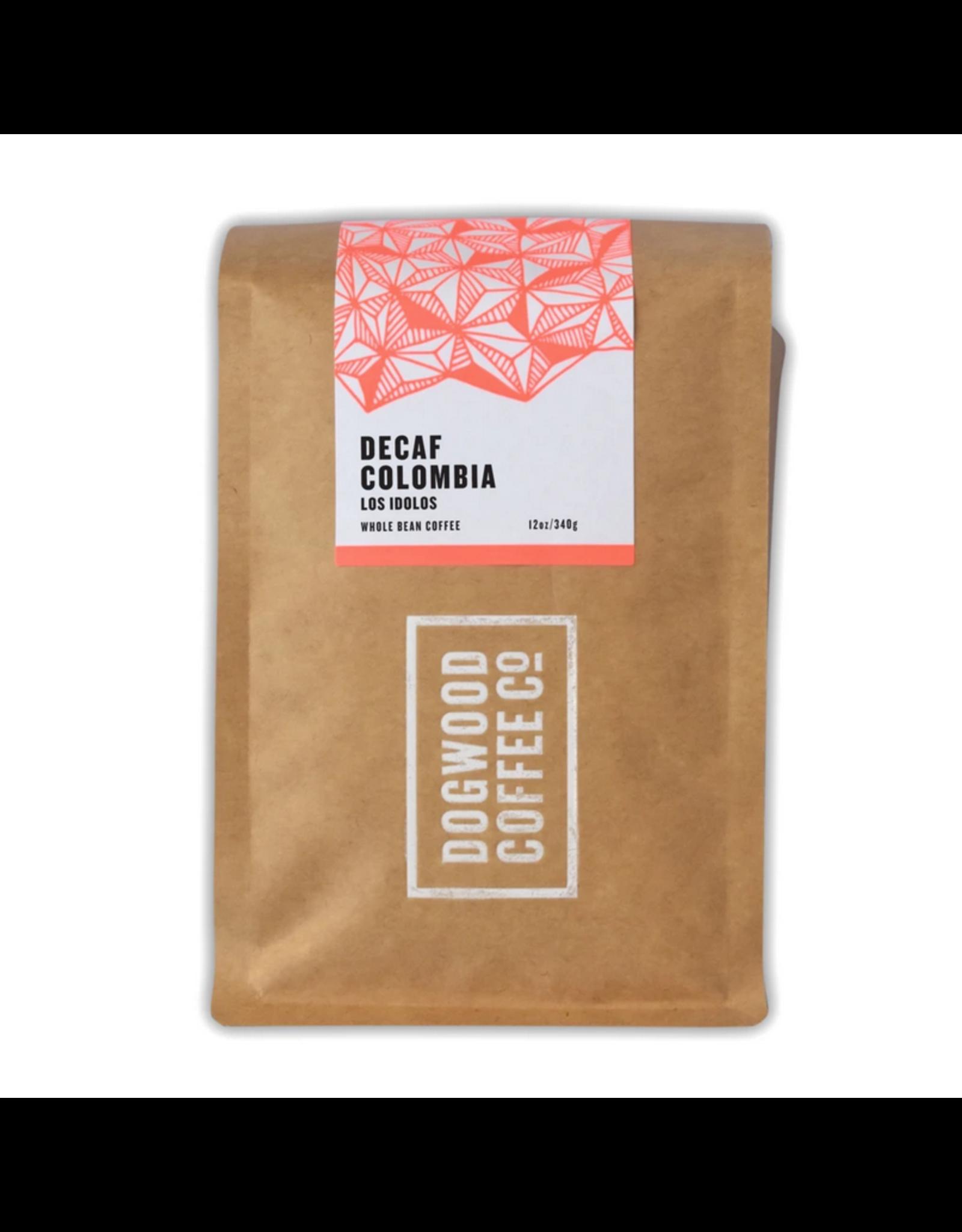 Dogwood Coffee Canada Ltd. Dogwood Coffee, Colombia Los Idolos, Decaf, 340g Beans