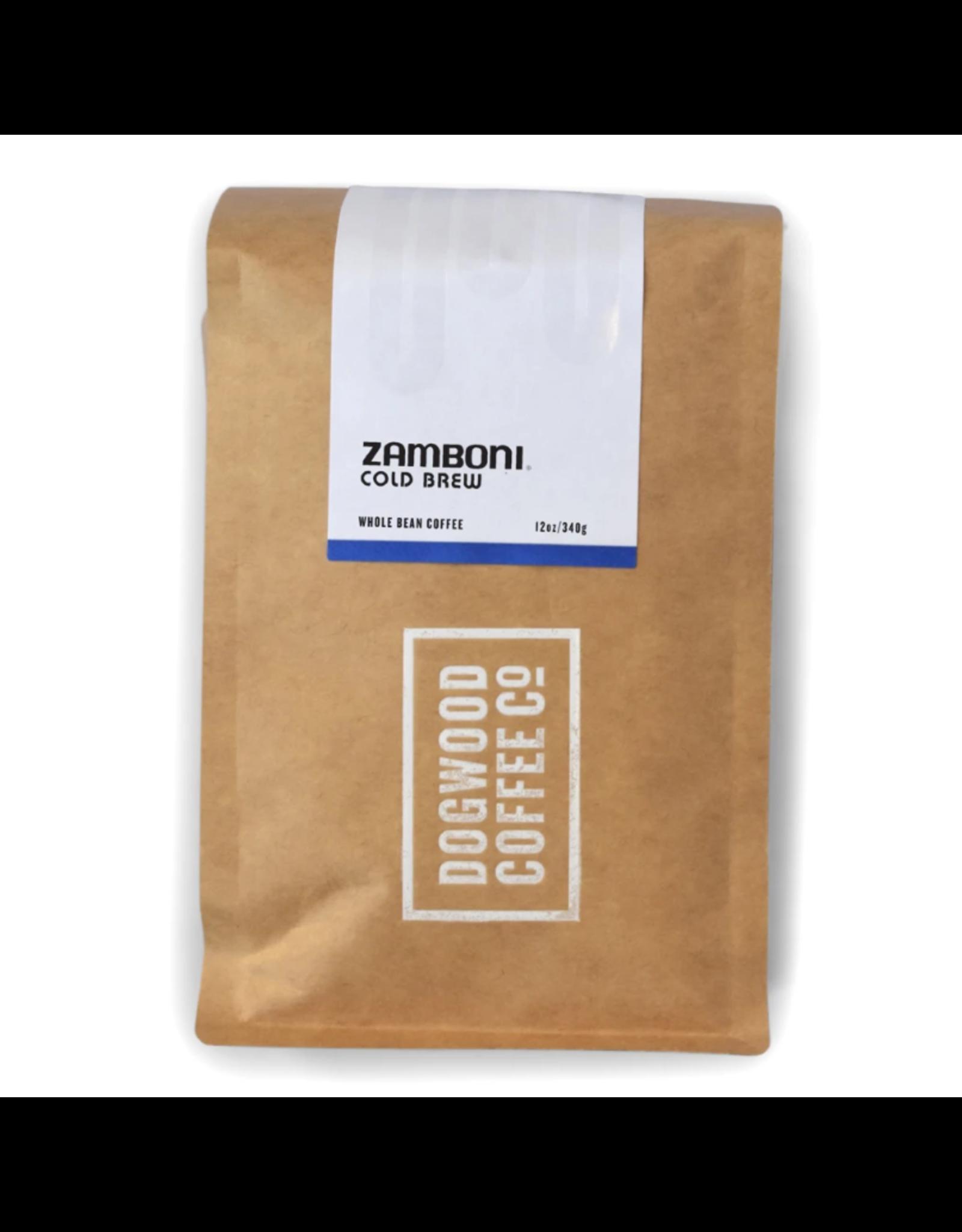 Dogwood Coffee Canada Ltd. Dogwood Coffee, Zamboni Cold Brew, 340g Beans