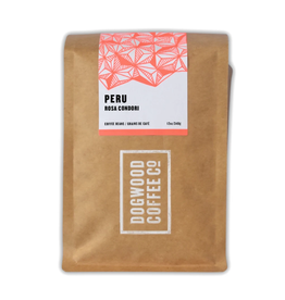 Dogwood Coffee Canada Ltd. Dogwood Coffee, Peru Rosa Condori, 340g Beans
