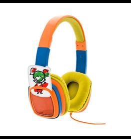 Xtech Xtech Headphones Smart Art On Ear Vol Limited w/Crayons Orange