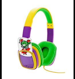 Xtech Xtech Headphones Smart Art On Ear Vol Limited w/Crayons Yellow