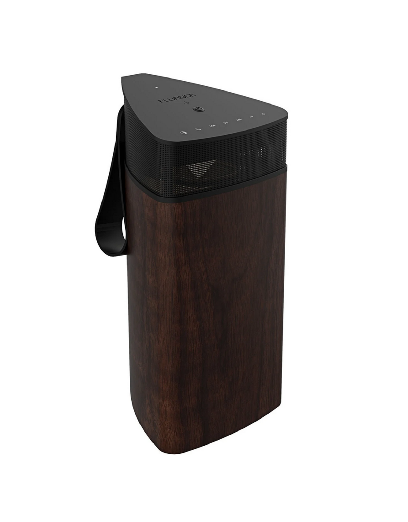 Fluance Fluance, Fi20 High Performance Portable Wireless 360 Degree Speaker, Natural Walnut