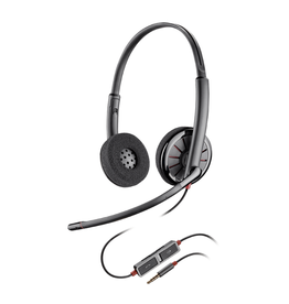 Plantronics Plantronics, Headset C225 Stereo Blackwire