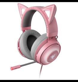 Razer Razer Headset Kraken Kitty Quartz Chroma w/Boom Mic USB SKU:50343