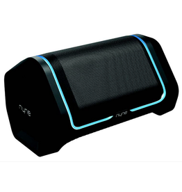Nyne Nyne Bluetooth Speaker B7 IP67 LED Party Lights 2 x 12W Bla SKU:49883