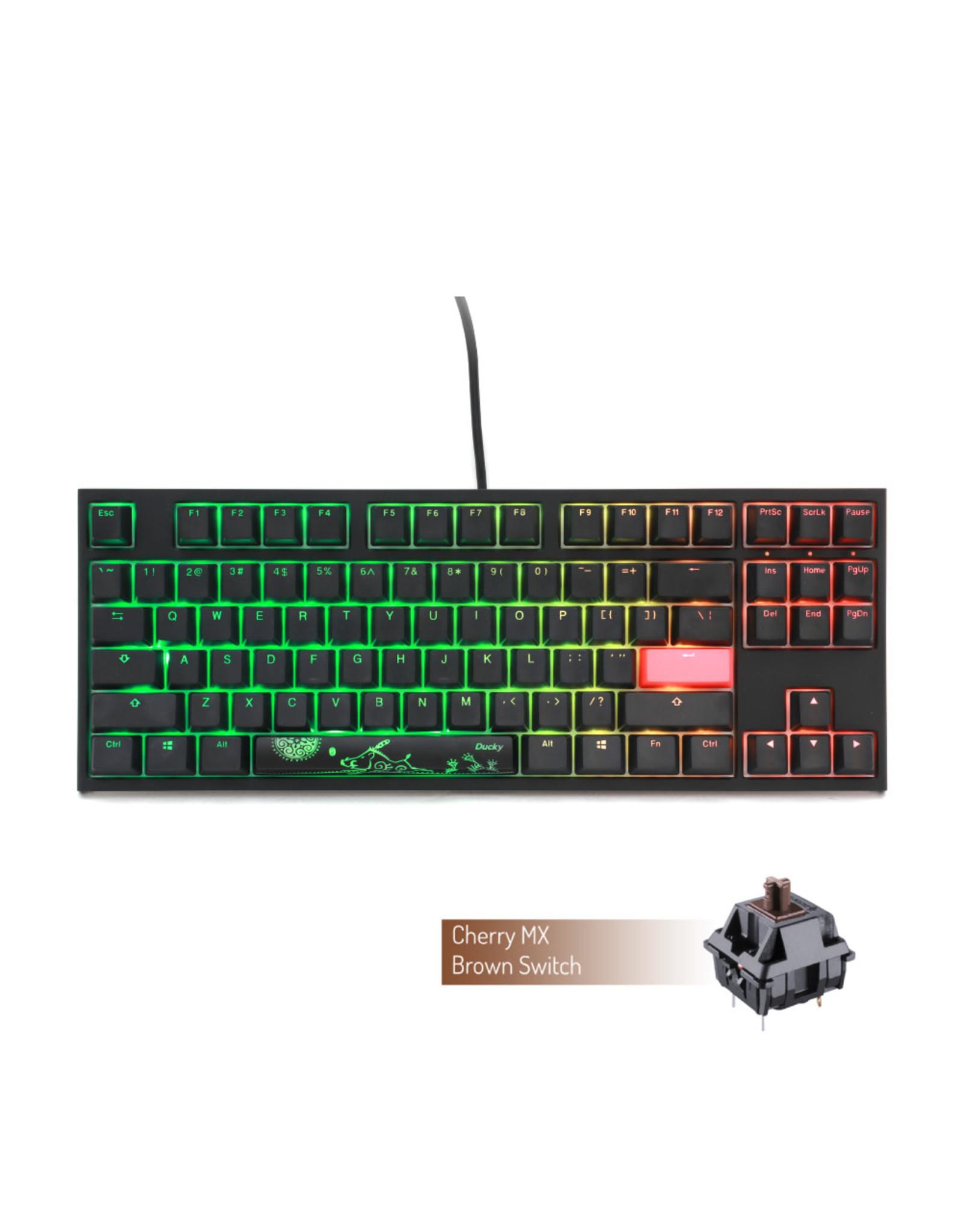 Ducky Ducky One 2 RGB TKL Mechanical Keyboard