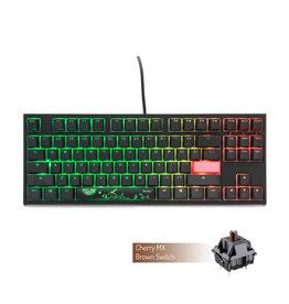 Ducky Ducky One 2 RGB TKL Keyboard, CMX Brown Switch