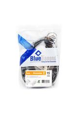 BlueDiamond BlueDiamond 3-Outlet, 3-Prong Extension Cord, 15ft