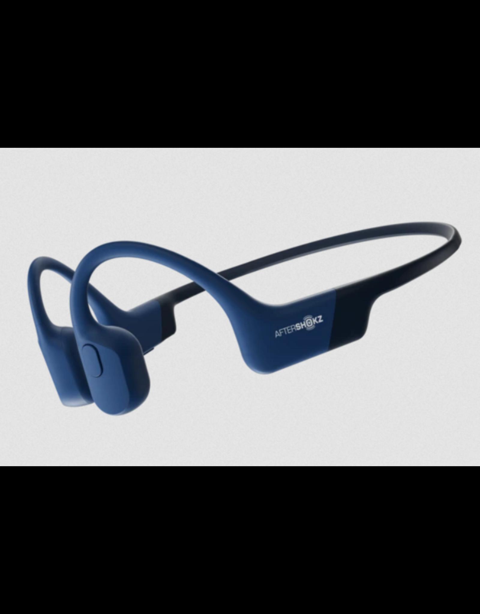 Aftershokz Aftershokz Aeropex Bluetooth Headphones IP67 Blue Eclipse SKU:49513