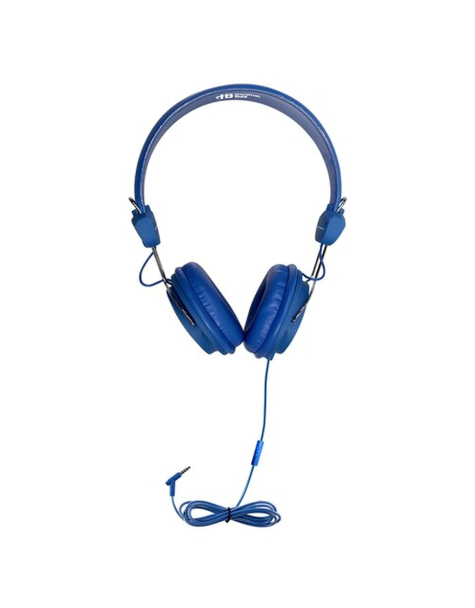 HamiltonBuhl HamiltonBuhl Headset On Ear with In-line Mic TRRS Blue SKU:49374