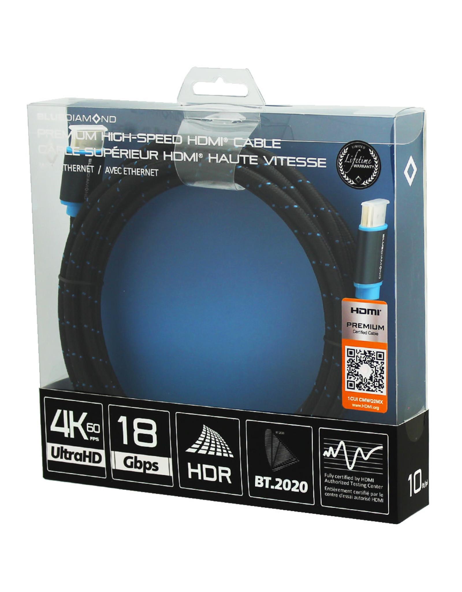 BlueDiamond BlueDiamond 10ft Premium HDMI 4k UltraHD Cable