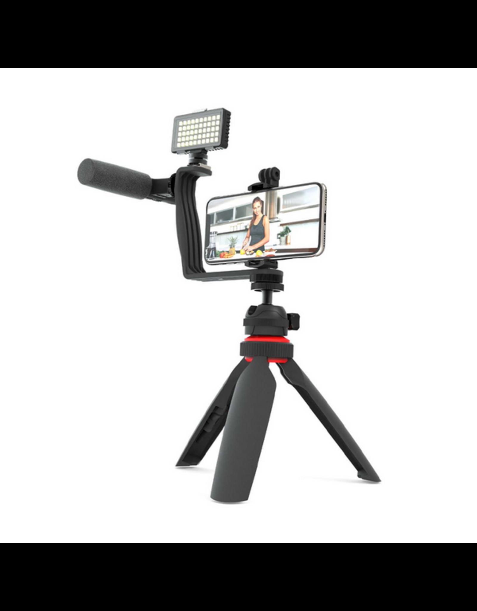 Digipower Digipower Vlogging Essentials 5pcs Mic/Light/Tripo/Hold/Brac SKU:50451