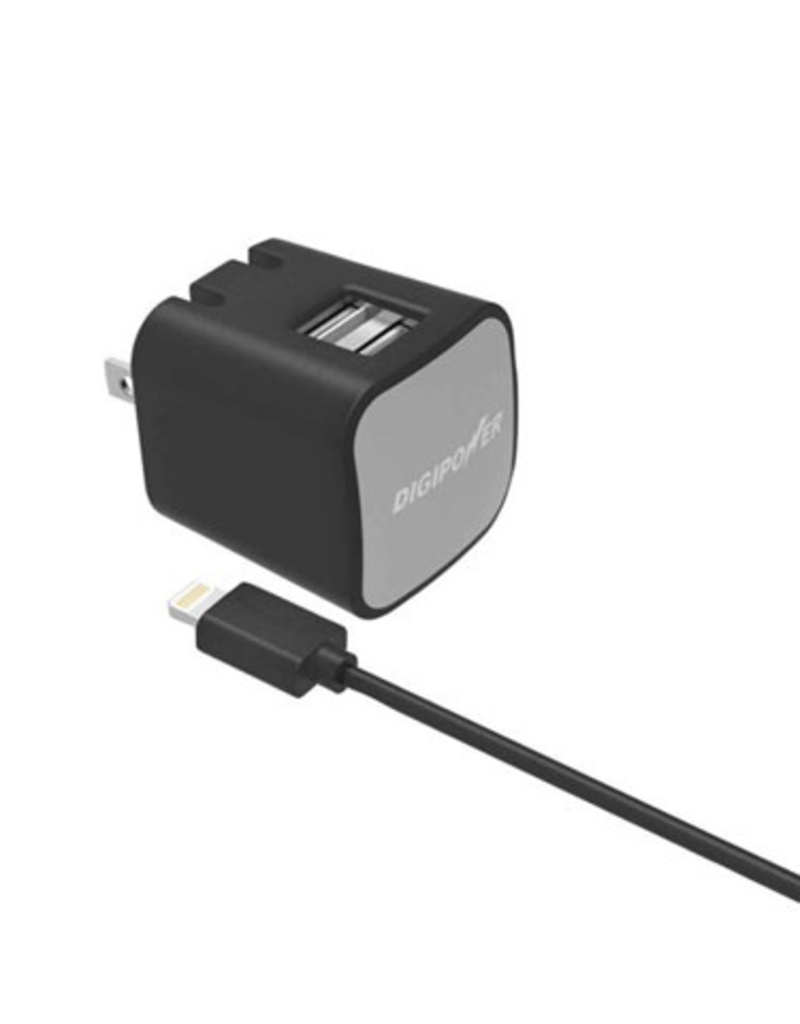 Digipower Digipower Wall Charger 2.4amp InstaSense w/Lightning 5ft  SKU:47770
