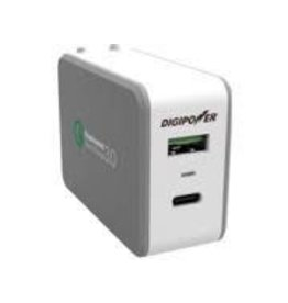 Digipower Digipower Wall Charger QC3 Output w/A & C ports 3A 15W  SKU:46702