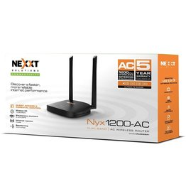 Nexxt Nexxt Router Wireless-N Nyx 300 300Mbps  SKU:49480