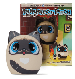 My Audio Pet My Audio Pet Bluetooth Speaker Purrfect Pitch the Cat SKU-47898