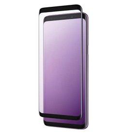 Znitro Nitro Galaxy S9+ Tempered Glass Curved Black SKU:47647