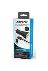 Digipower Digipower Car Charger 2.4amp InstaSense 2Port w/Lightning Cbl  SKU:50141