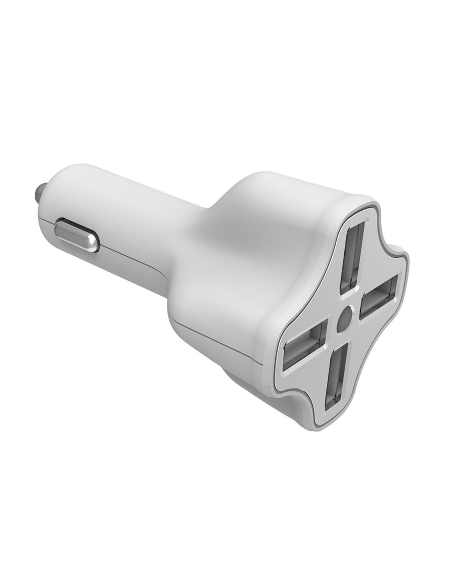 Digipower Digipower Car Charger 6.2amp InstaSense 4Port USB  SKU:39860