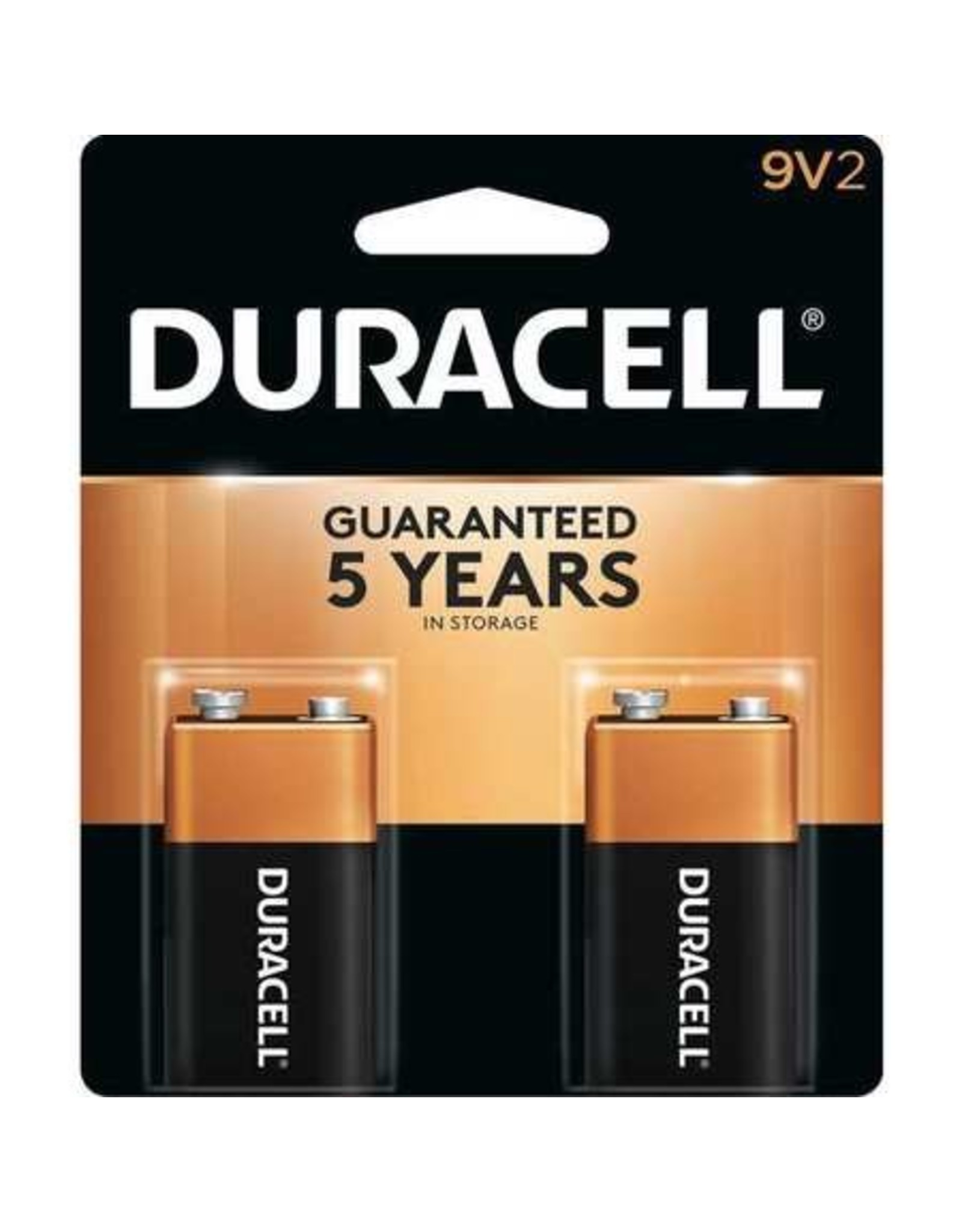 Duracell Duracell 9V Coppertop Alkaline Batteries 2 Pack