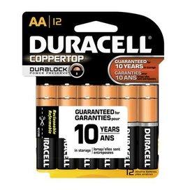 Duracell Duracell AA Coppertop Alkaline Batteries 12 Pack