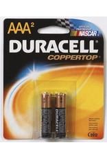 Duracell Duracell AAA Coppertop Alkaline Batteries 2 Pack
