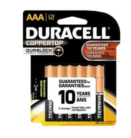 Duracell Duracell AAA Coppertop Alkaline Batteries 12 Pack