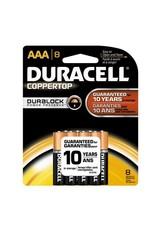 Duracell Duracell AAA Coppertop Alkaline Batteries 8 Pack