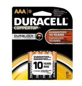 Duracell Canada Inc. Duracell AAA Coppertop Alkaline Batteries 8 Pack