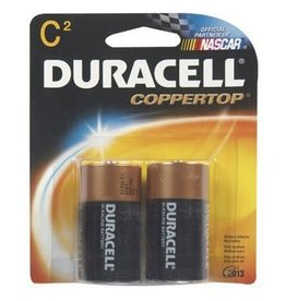 Duracell Duracell C Coppertop Alkaline Batteries 2 Pack