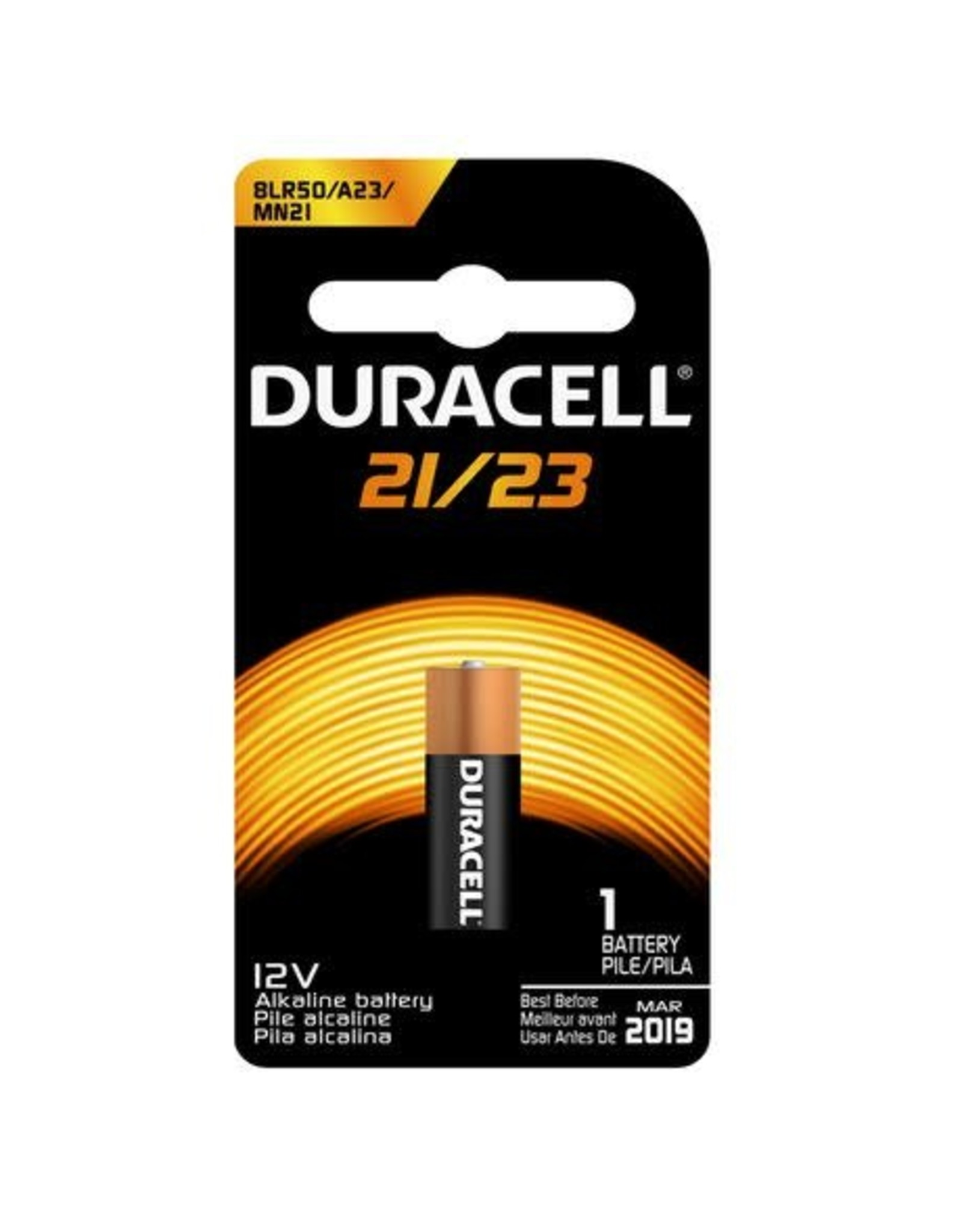 Duracell Canada Inc. Duracell MN21/23 12V Coppertop Alkaline Battery 1 Pack