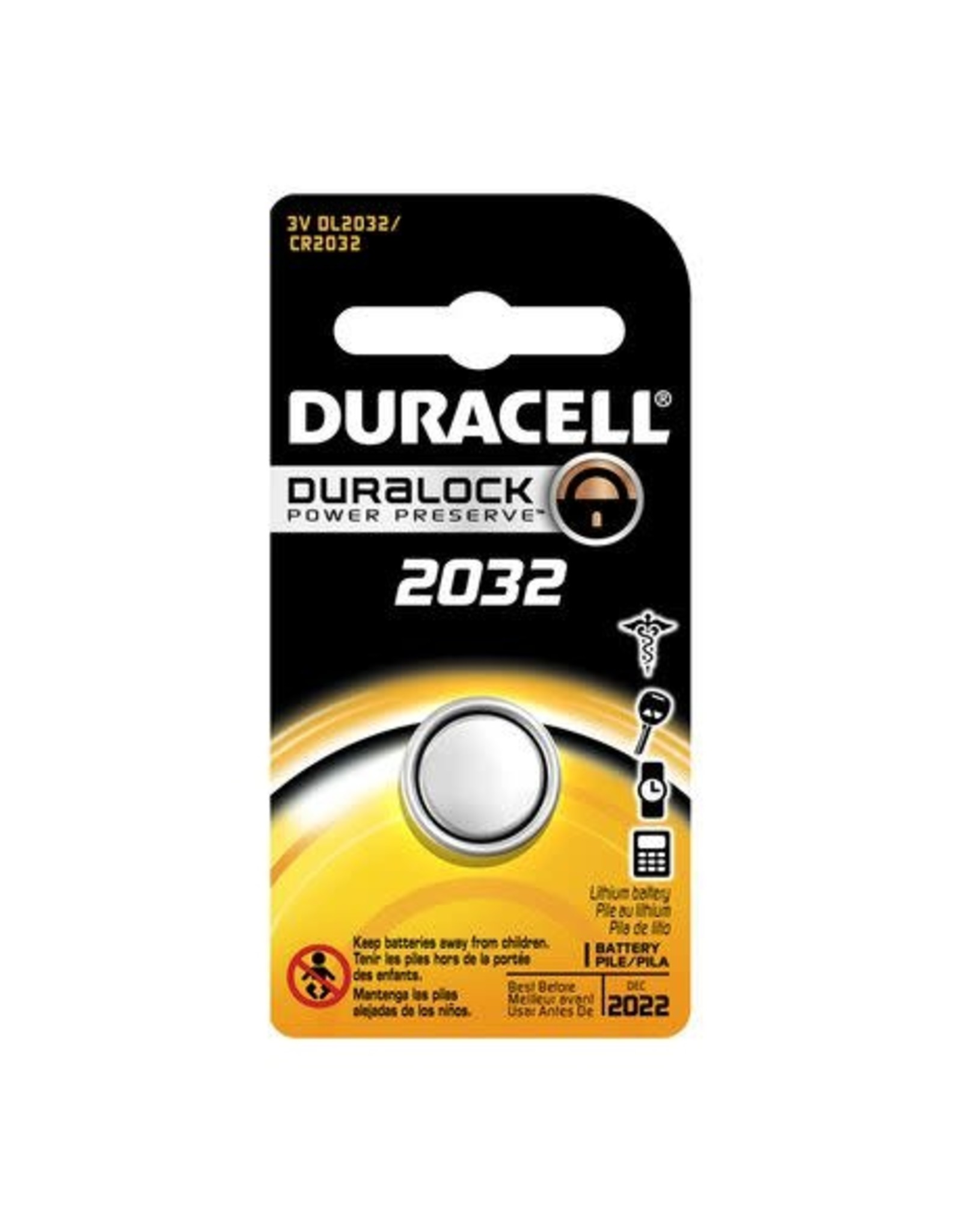 Duracell Duracell DL2032 3V Lithium Battery 1 Pack