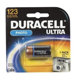 Duracell Duracell DL123 3V Lithium Photo Battery 1 Pack