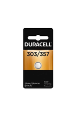 Duracell Duracell 357/303 1.5V Silver Oxide Button Battery 1/pack