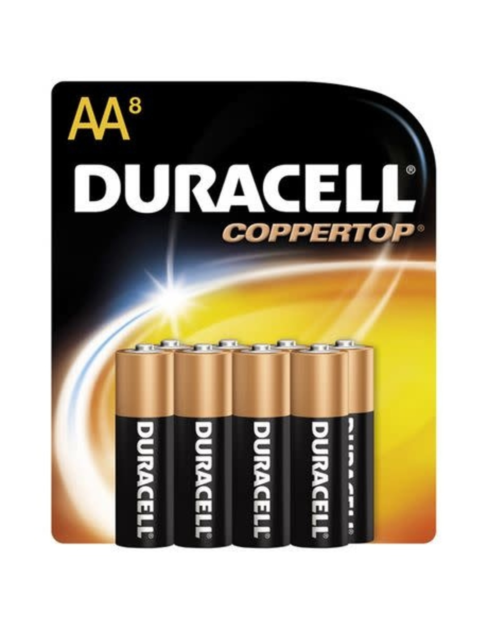 Duracell Duracell Coppertop AA 8-Pack